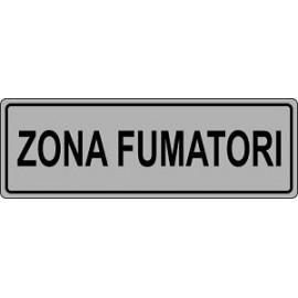 ETICHETTA 'ZONA FUMATORI'