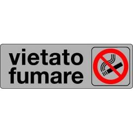 ETICHETTA 'VIETATO FUMARE LEGGE 2005'
