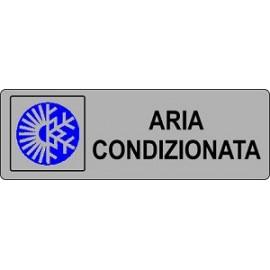 ETICHETTA 'ARIA CONDIZIONATA'